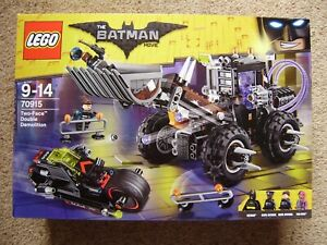 Lego 70915 The Batman Movie Two-Face Double Demolition Set. New In Sealed Box.