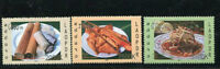 LAOS STAMP 2007 GASTRONMIE TRADITIONAL FOODS 3v. MNH