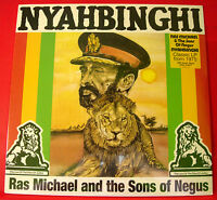 Ras Michael/Sons Of Negus Nyahbinghi LP 180g Vinyl RI+Insert NEW SEALED Roots