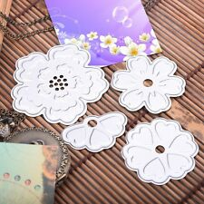 4pcs/set Flowers Cutter Cutting Dies Stencil Scrapbooking Ablum Cards Embossing