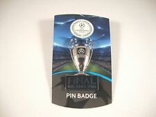 "Uefa-liga de campeones TM pin ""trofeo + final Milano 2016"" copa Trophy cl Badge"