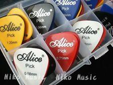 24pcs Acoustic Electric Guitar Picks Plectrums+1 Plastic Picks Box Case