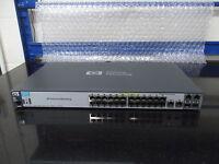 HPE 2520-24--PoE Switch Switch - 24 port Gigabit PoE Switch HP J9138A