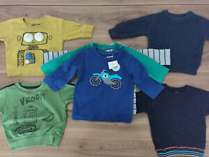 NEXT boys 3-6 months autumn winter bundle tops jumpers