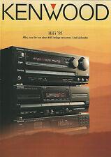 Kenwood Katalog Prospekt '95 L-A1 L-1000 DP-7060 KA-7050R SS-3300 KR-X1000 RS-05