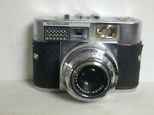 1958 Voigtlander Vitomatic II 35mm SLR Camera, Prontor SLK - V 50 mm Lens