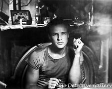 Marlon Brando in A Streetcar Named Desire (2) - 1951 - Vintage Celebrity Print