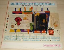 THE NORMAN LUBOFF CHOIR MOMENTS TO REMEMBER ALBUM 1960 COLUMBIA CL 1423