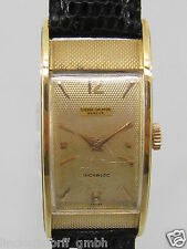 Sigma valmon Geneve señores Curvex reloj 18ct Gold 40/50er