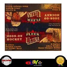 (HCW) 2008-09 Fleer Ultra Retail Box - Stamkos, Giroux, Doughty, Turris +++