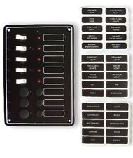 LUXUS- Schaltpaneel Schalttafel mit 5 Schaltern NEU OVP