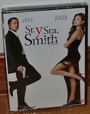 SR. Y SRA. SMITH MR. AND MRS. SMITH DVD PRECINTADO NUEVO ACCIÓN (SIN ABRIR) R2