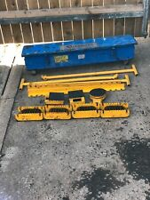 More details for steerman sk 20 ton machine moving caterpillar steel roller skates c/w steel case