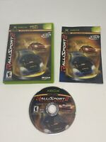 RalliSport Challenge 2 (Microsoft Xbox, 2004) Complete Tested & Works Clean Disc
