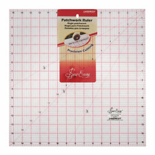 Sew Easy Patchwork Quilting Ruler Square: 15.5 x 15.5""