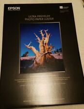 "Epson Ultra Premium Photo Paper Luster 11.7"" by 16.5"" 50 Sheets S041406 NEW"
