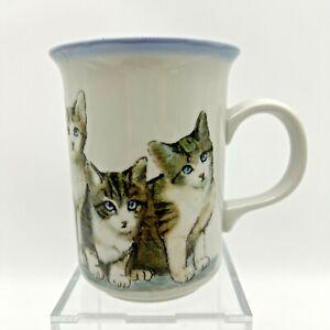 Vintage Otagiri Japan Mug Kittens Cats Coffee Cup Mug