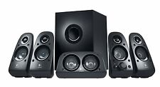 Logitech Z506 Surround Sound 5.1 multimedia Speakers (Black) .