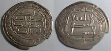 ORIGINAL ABBISID CALIPHATE DYNASTY 750-850 A.C. SILVER DIRHAM COIN