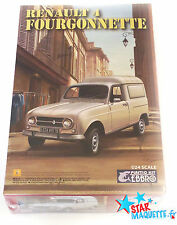 Ebbro 25003 maquette voiture RENAULT 4 FOURGONNETTE 1/24