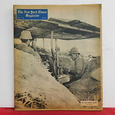 At The Gaz Strip New York Times Magazine Indonesia Section 6 March 13 1955 RARE!