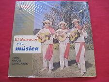 TRIO HNOS CARCAMO~EL SALVADOR Y SU MUSICA~KISMET LP 21~MINT SEALED RARE LATIN