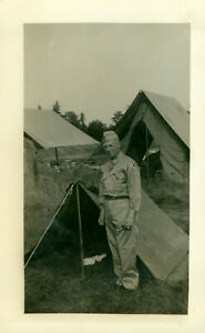 WWII 1942-44 US Army Pine Camp, NY soldier's Photo Joe Kelly, shoulder patch