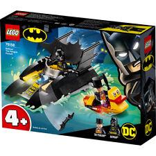 Lego 76158 DC Comics Batman Batboat The Penguin Pursuit! Building Set