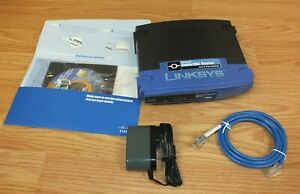 Linksys (BEFSR41 v4.3) 10/100 EtherFast Wired Cable/DSL Router w/ 4-Port Switch