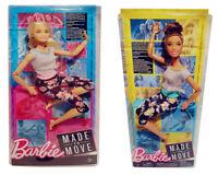 Barbie Made to Move Puppe verschiedene Haare mit beweglichen Gelenken Sport NEU