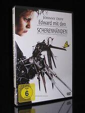 DVD EDWARD MIT DEN SCHERENHÄNDEN - JOHNNY DEPP + WINONA RYDER - Tim Burton * NEU