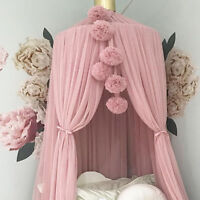 AU_ KF_ Wall Pendant Bed Canopy Mosquito Net Flower Ball Hanging Ornament Decor