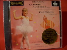 "CSCD-6079 DEBUSSY "" LA BOITE A JOUJOUX ""(CLASSIC RECORD-GOLD-CD/FACTORY SEALED)"