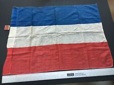 French Flag B Vintage 1950s 1960s Great for stage play Les Miserables 85 X 60 CM