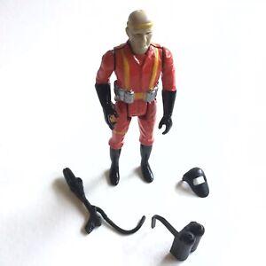 "Eagle Force Beta Man Gun Mask Pack Mego 1981 Die-cast 2.75"" Military Army War"