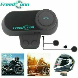 Motorrad Bluetooth Headset Helm Sprechanlage Gegensprechanlage Intercom FM 100M