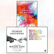 Professor Brian Cox Collection 3 Books Pack Set Forces of Nature,Human Universe