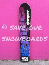 NICE! Vintage 1991 Kemper Rampage 150 Snowboard Austria FREE SHIP blue purple