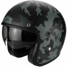 Scorpion Open Face Matt Multi-Composite Motorcycle Helmets