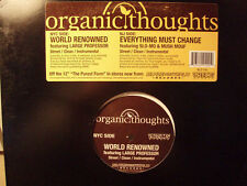 "ORGANIC THOUGHTS + LARGE PROFESSOR - WORLD RENOWNED (12"")  2004!!!  RARE!!!"