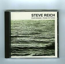 CD STEVE REICH FOUR ORGANS PHASE PATTERNS