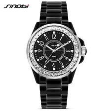 Damen J12 Schmuck Armband Schwarz Uhren Mode Edelstahl Armbanduhr Geschenk 2017