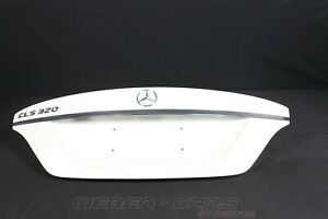 A2187500075 Mercedes C218 CLS Facelift Tailgate Bootlid Boot White