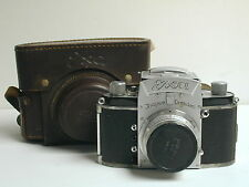 Ihagee Dresden Exa Type 2 35mm SLR Camera, Carl Zeiss Lens, 1953 - 1956
