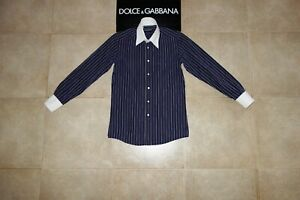 Dolce&Gabbana Black Label Shirt Camicia 39(15 1/2) Made in Italy 100% Auth. 450€