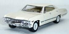 1967 Chevrolet Impala beige Sammlermodell ca. 12,5cm / 1:43 Neuware von KINSMART