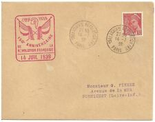 French Used Cover Stamps