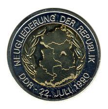 DEUTSCHLAND - 20 Jahre WIEDERVEREINIGUNG - Neugliederung 22. Juli 1990 - ANSEHEN