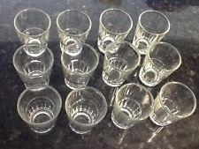 12 Shot Glasses Glass Barware Shots Vodka Tequila 1.5 oz Dozen Doz Lot of