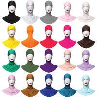 Lady Women Muslim Sport Hijab Islamic Under Scarf Cap Neck Cover Inner Headwear